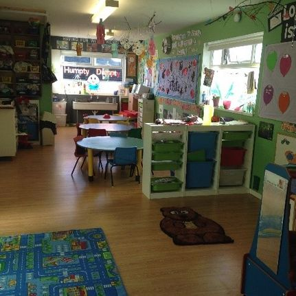 Angels Daycare Pre school room