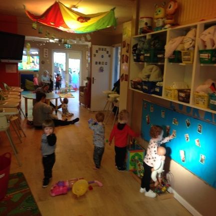Angels Daycare Cherubs room