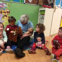 Angels Day care storytime